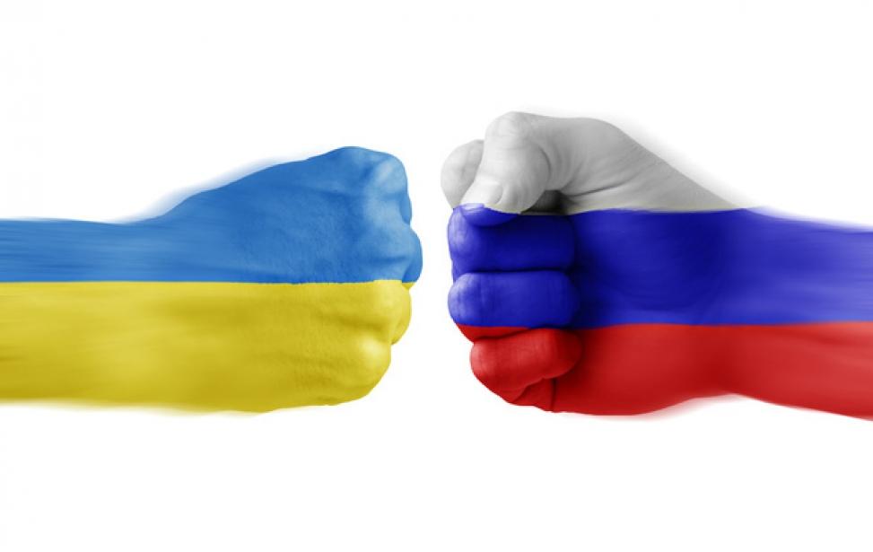 Порівняння поглядів українців та росіян на збройний конфлікт на Донбасі